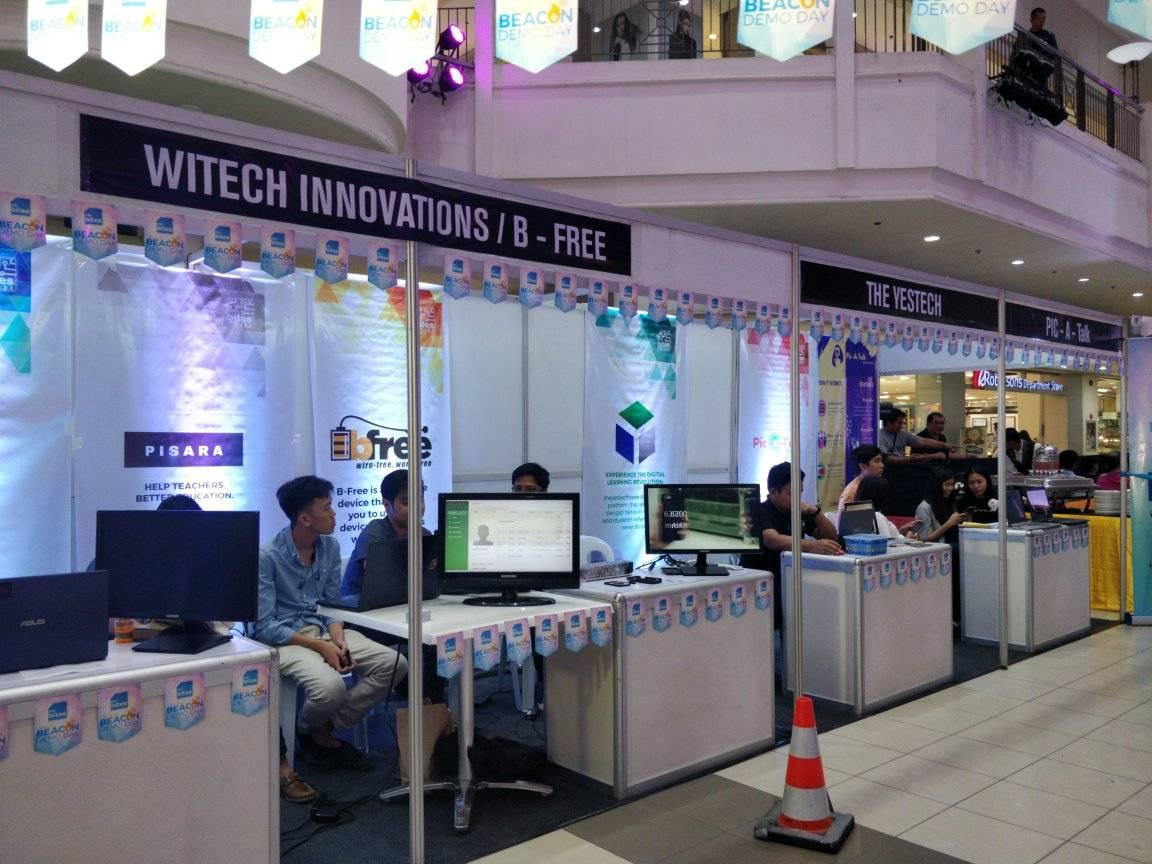 Witech Innovations, BFree Startups Kiosks Exhibit